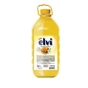 Течен сапун  Elvi Honey and Milk 5l